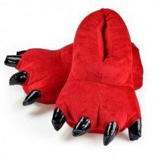 Тапочки для кигуруми красные