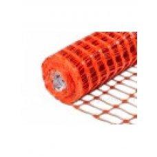 Аварийное ограждение арт. А-95/1/50 яч.: Прямоугольн. 45х95мм Рулон: 1х50м, Оранжевый